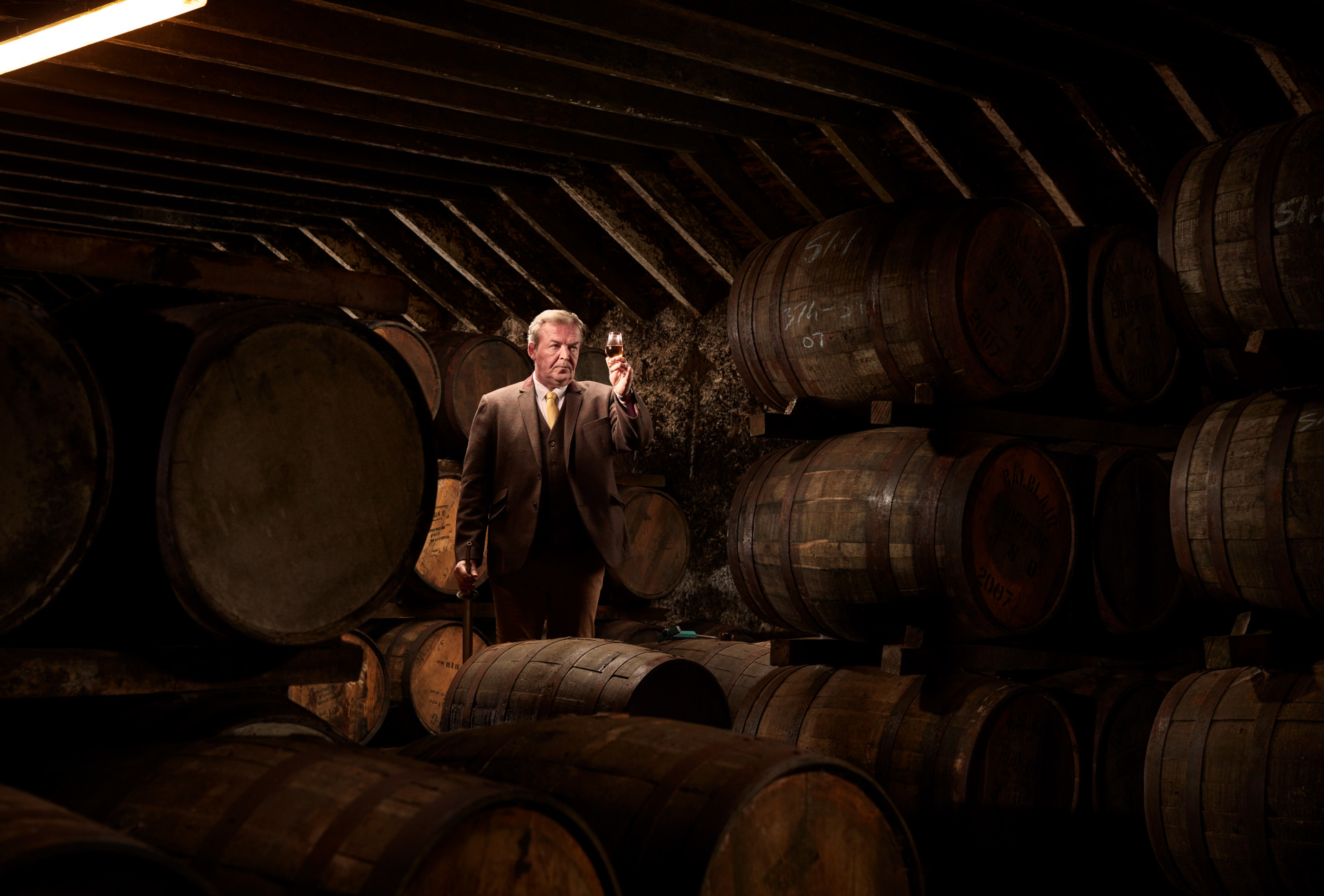 Balblair Distillery Manager - a native Highlander, John has always had an in-built appreciation and respect for whisky-making, and has dedicated his entire working life to the craft.