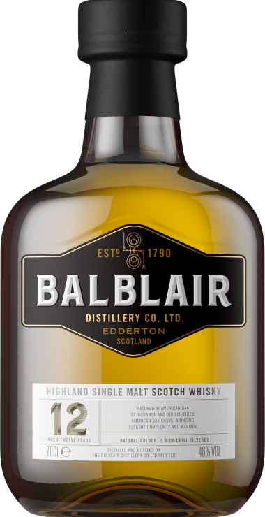 Balblair 12 Year Old - Elegant and approachable, this is the defining expression of Balblair Distillery, one to which all others refer. In a way, all Balblair journeys start here.