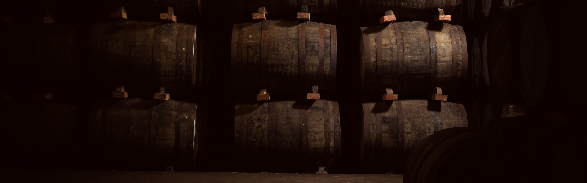 Our malt is crafted slowly and is matured at the distillery in traditional dunnage warehouses on earthen floors.