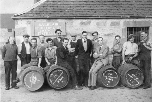 Balblair Whisky Distillery Team