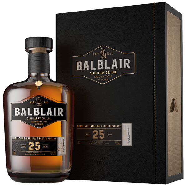 Balblair 25 Year Old The Travel Collection