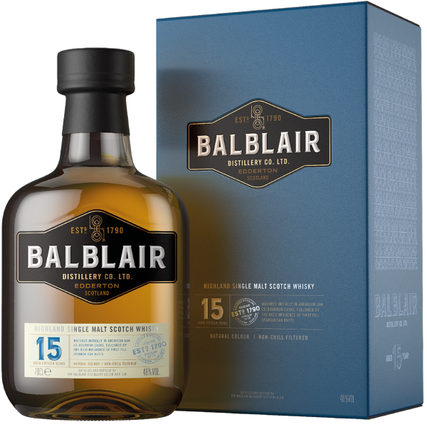 Balblair 15 Year Old The Balblair Collection