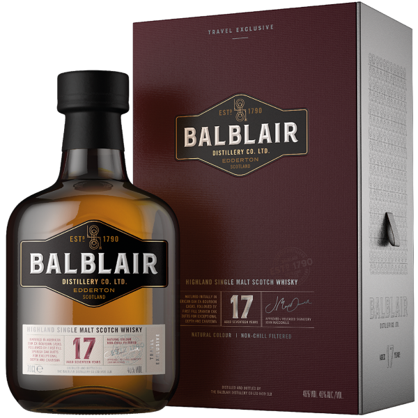 Balblair 17 Year Old The Travel Collection Copy