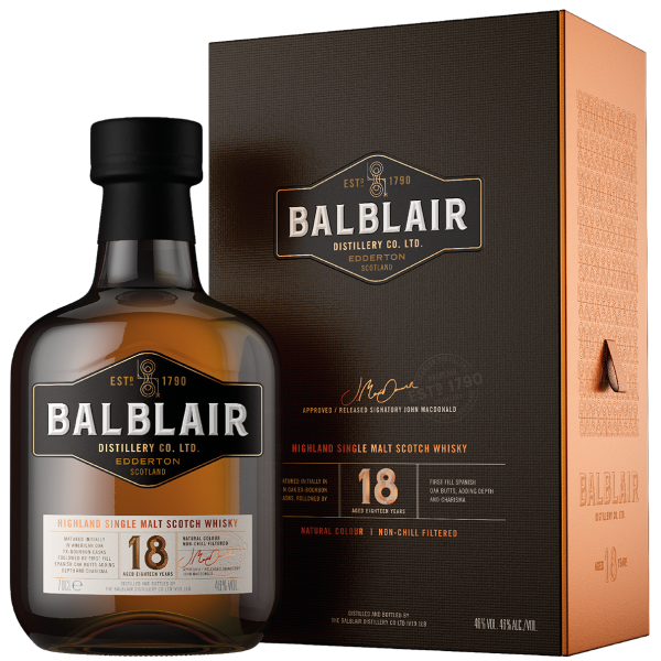 Balblair 18 Year Old The Balblair Collection